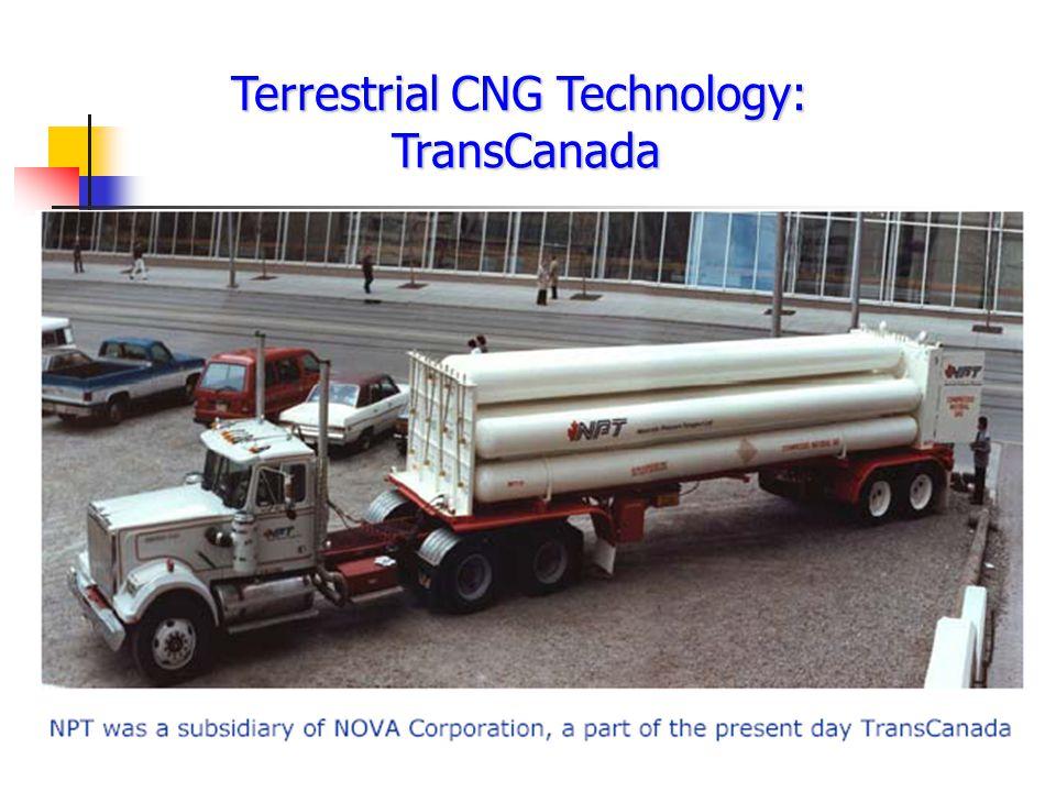 Terrestrial CNG Technology: TransCanada