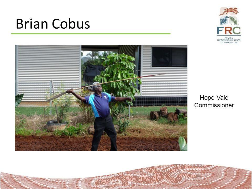 Brian Cobus Hope Vale Commissioner