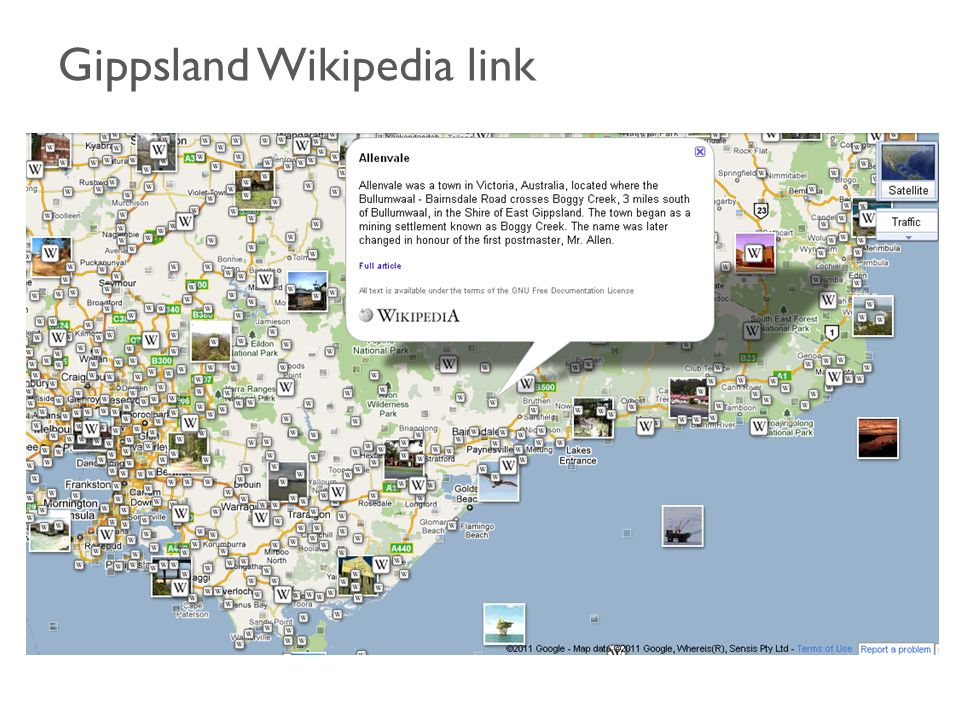 Gippsland Wikipedia link