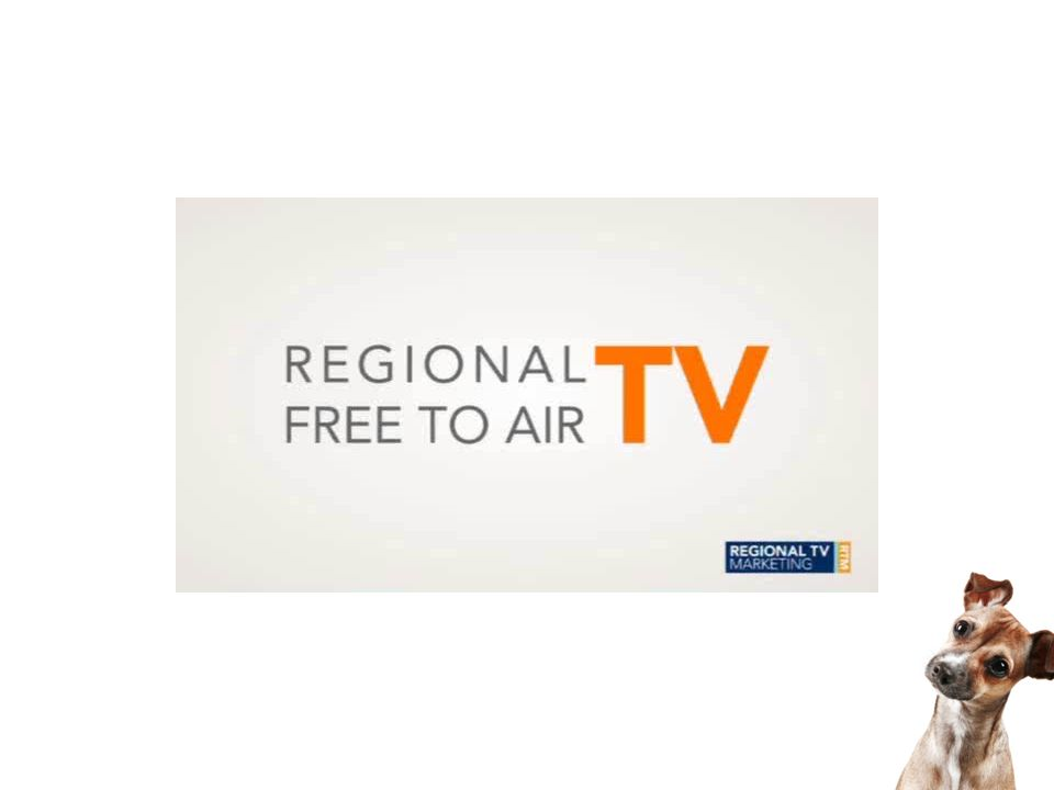 Regional TV offers your clients growth, accountability and engagement Discretionary spending outlook very positive Regional media consumption favours FTA TV Opportunities for localised messaging in support of national brand strategy RTM can provide effectiveness measures and opportunity analysis