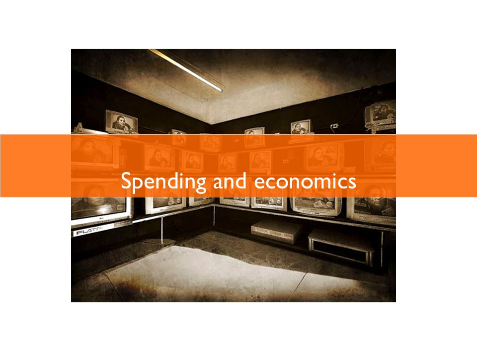 Spending and economics