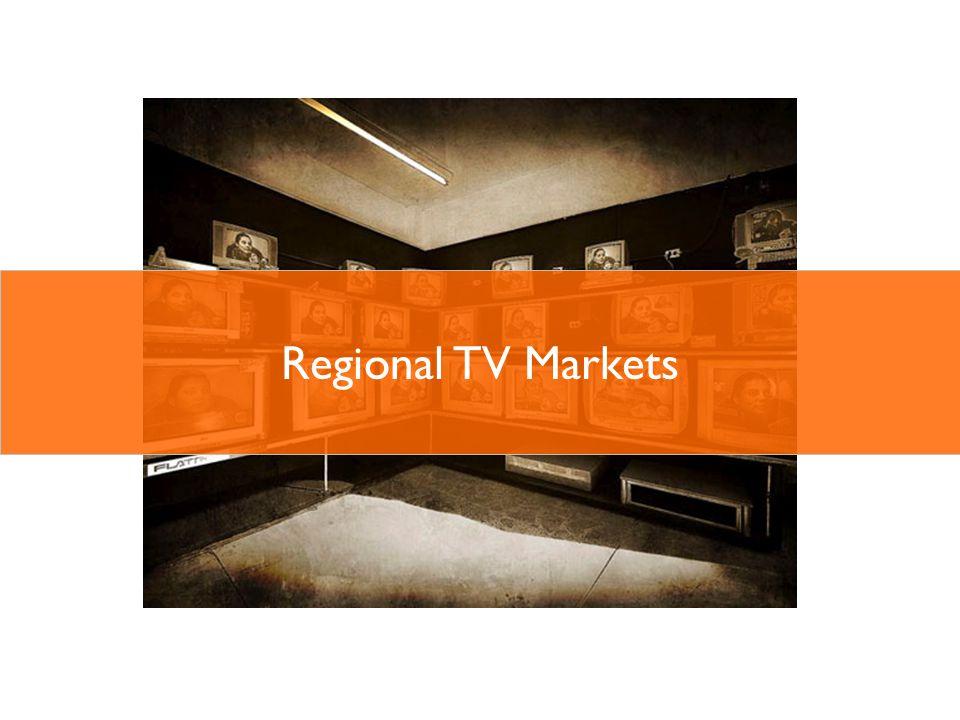3 % 9 Source: OzTam AGB Nielsen 2011 3,141,000 Australian 55+ live in Regional TV markets