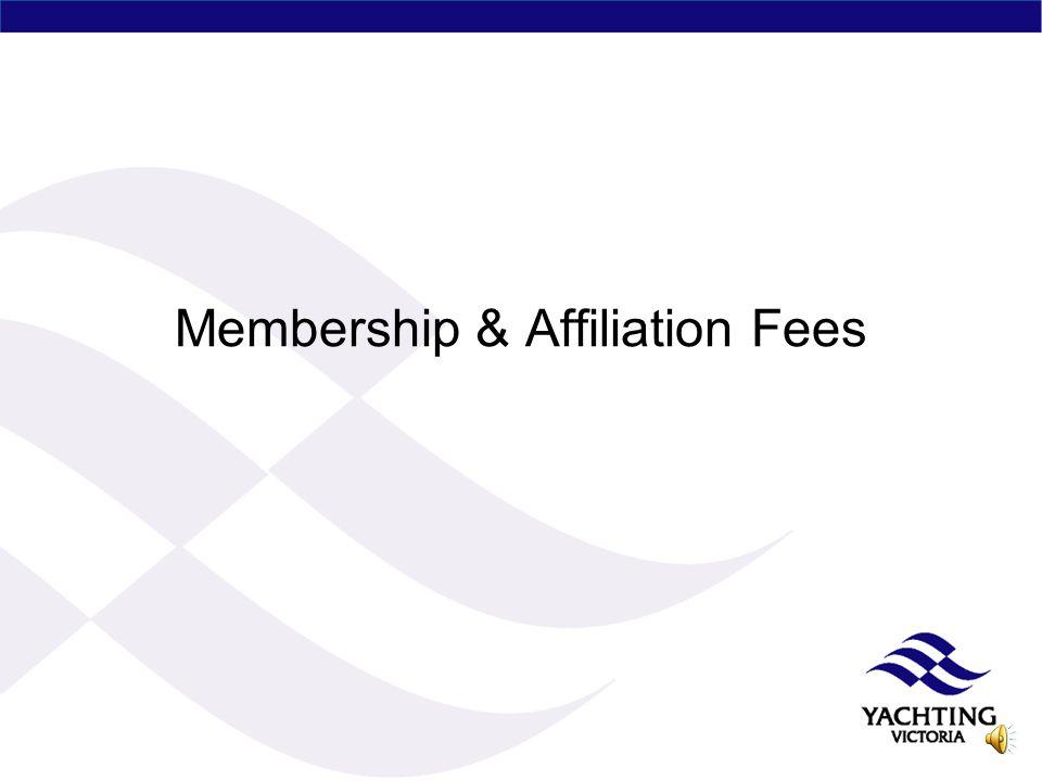 Membership & Affiliation Fees