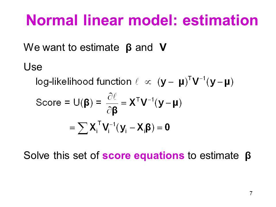 8 Generalized linear model (GLM)