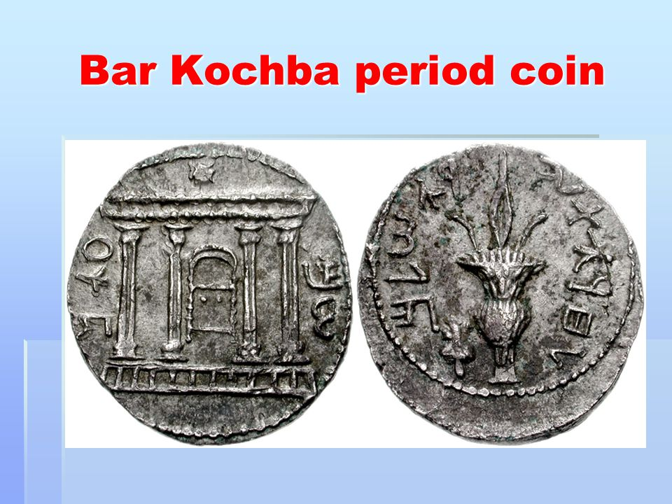 Bar Kochba period coin