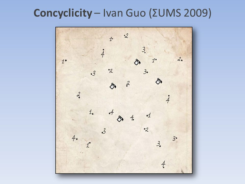 Concyclicity – Ivan Guo (ΣUMS 2009)