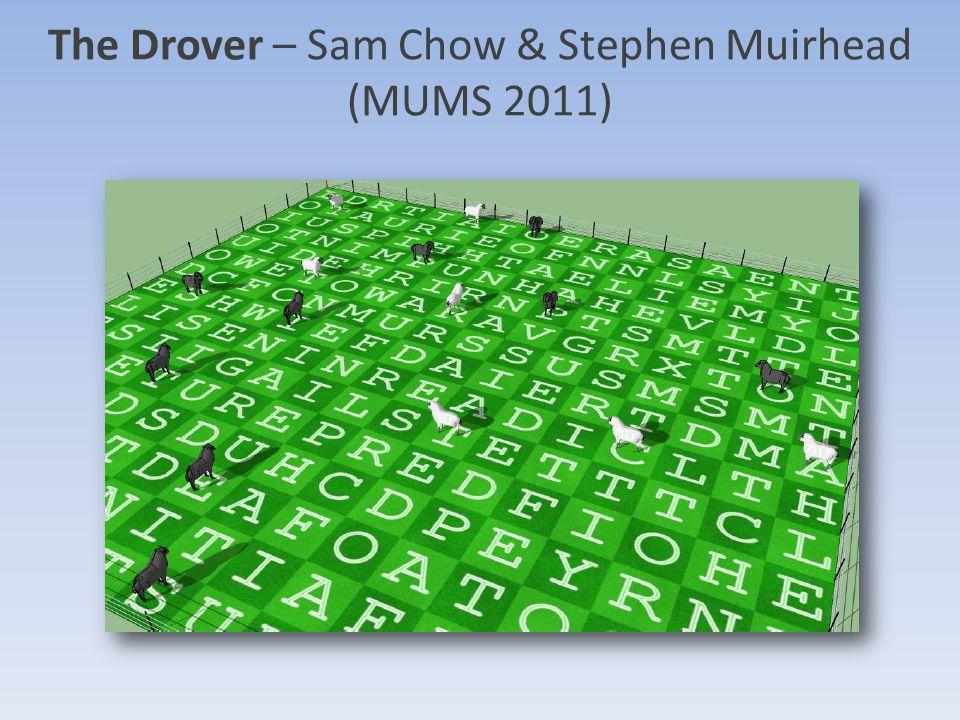 The Drover – Sam Chow & Stephen Muirhead (MUMS 2011)