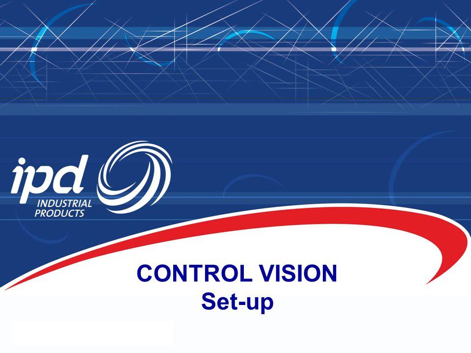 CONTROL VISION Set-up