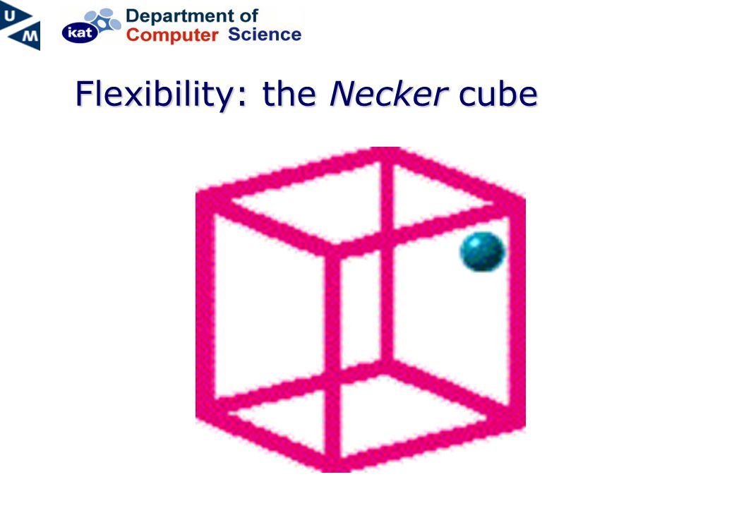 Flexibility: the Necker cube
