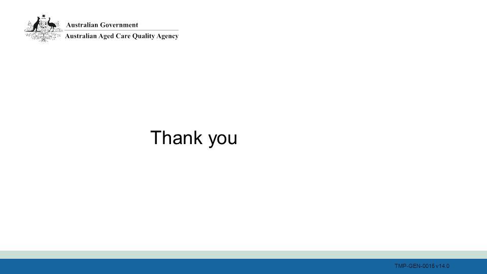 TMP-GEN-0015 v14.0 Thank you
