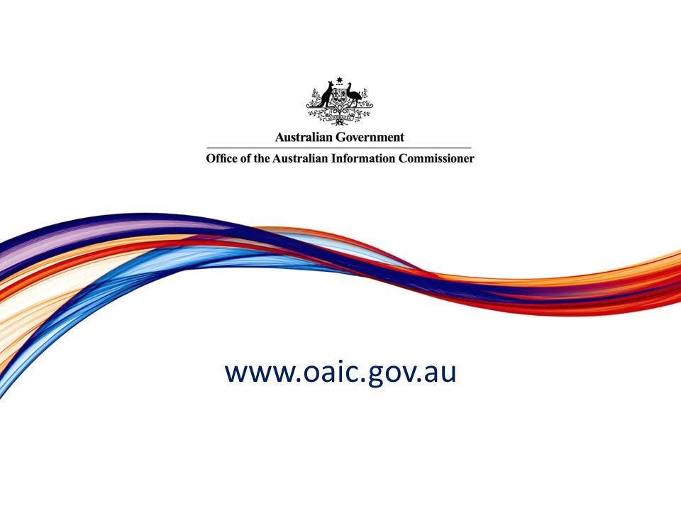 www.oaic.gov.au