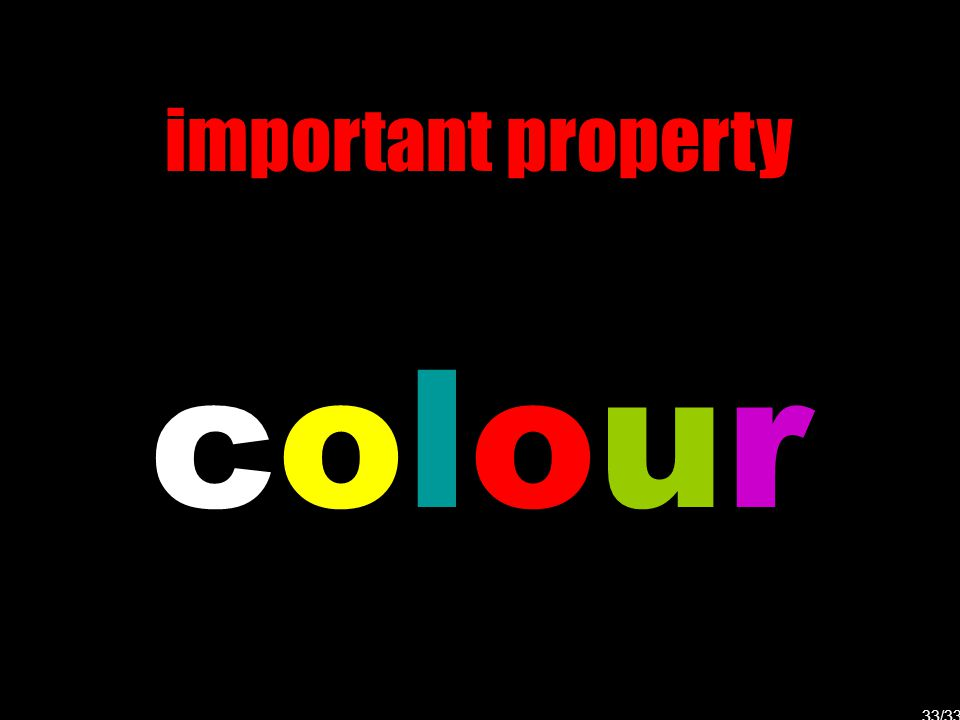 important property colourcolour 33/33