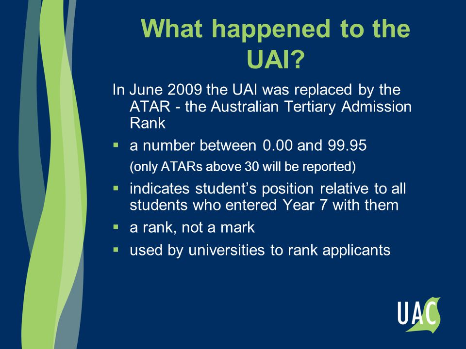 What happened to the UAI.