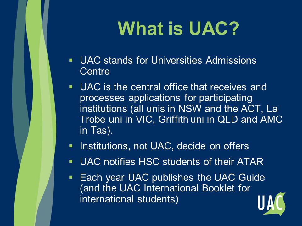 What happened to the UAI.