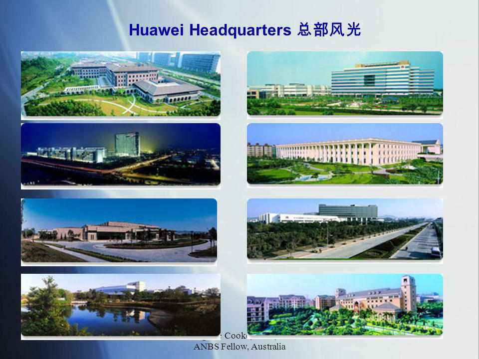 Fang Lee Cooke, MBS, UK ANBS Fellow, Australia 21 Huawei Headquarters 总部风光