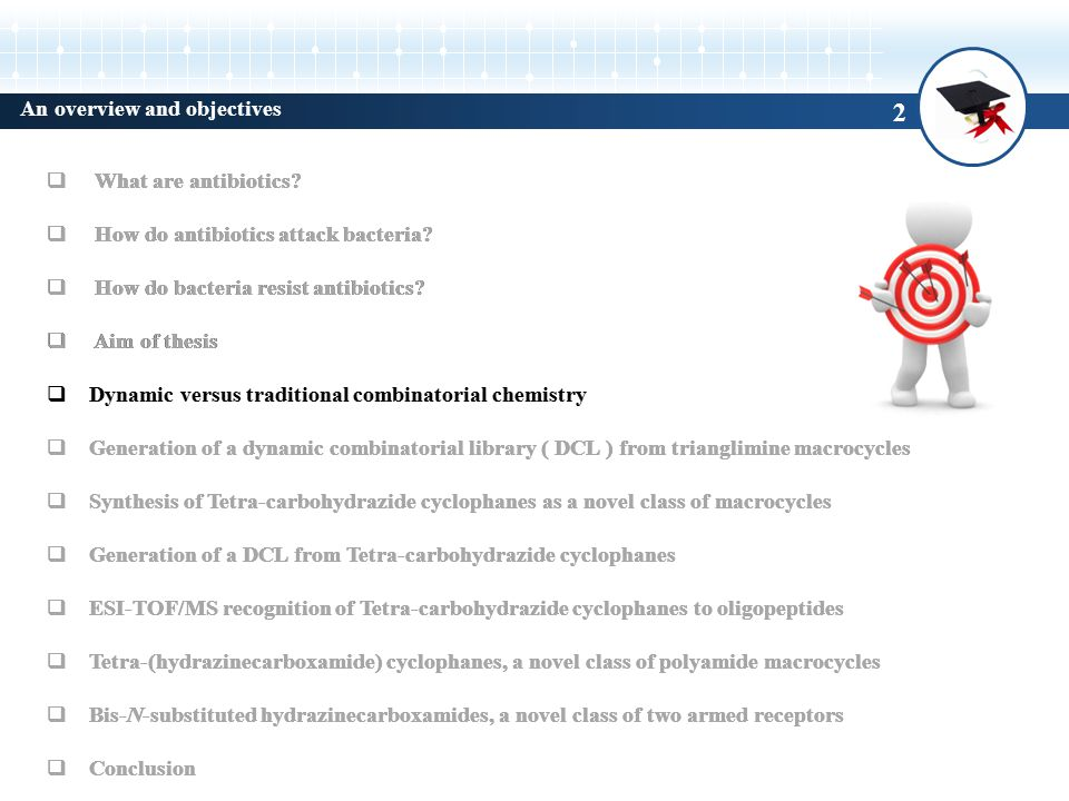 2 An overview and objectives  What are antibiotics.