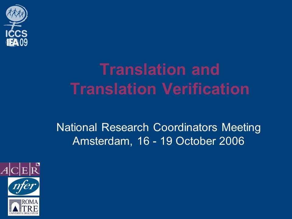 NRC Meeting Amsterdam 16-19 Oct 2006 Instruments revision summary Please report verifier's suggestions which were not introduced!