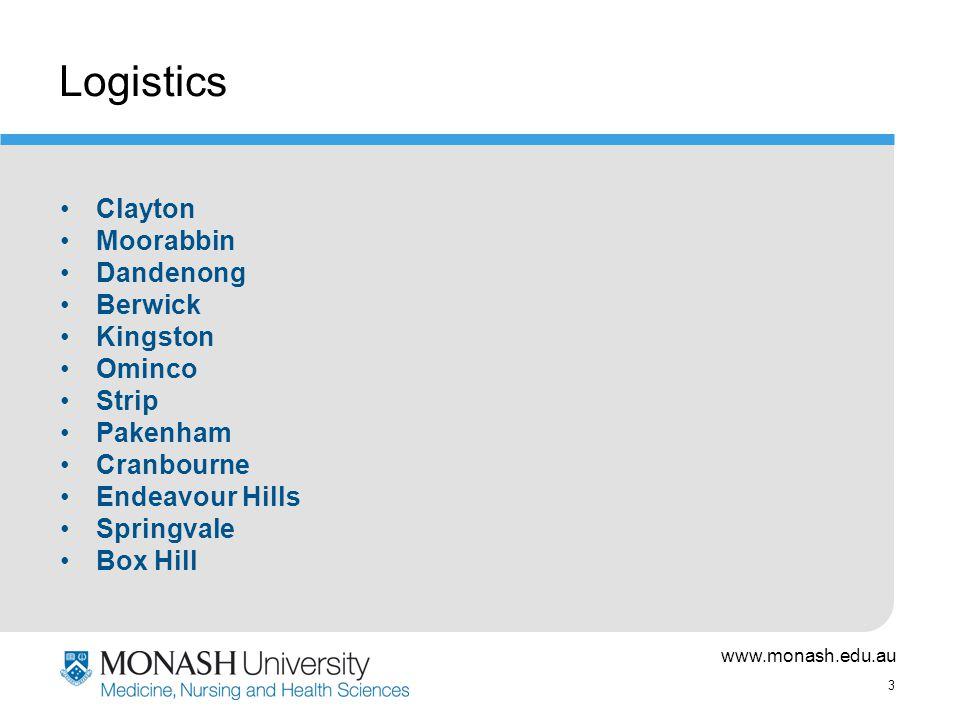 www.monash.edu.au 4 Network Services Team Team –http://www.med.monash.edu.au/medicine/m mc/networkservices/team.html