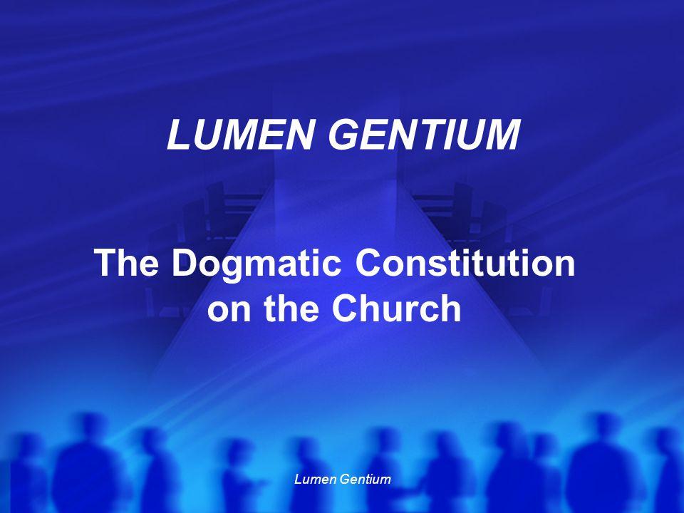 Lumen Gentium No.