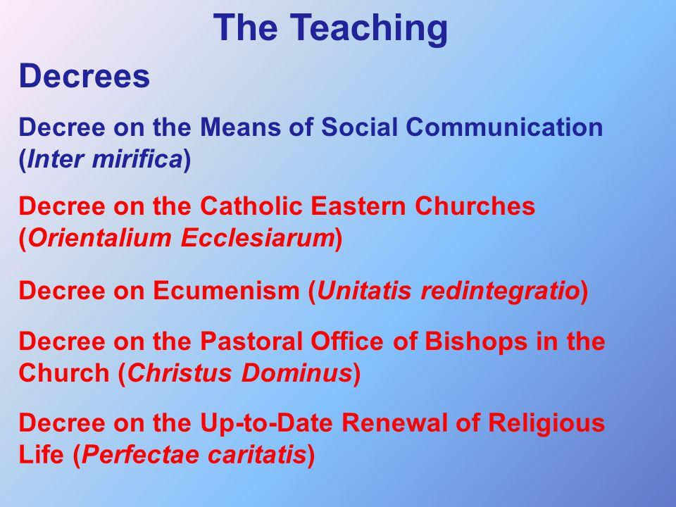 Lumen Gentium PRE-HISTORY Mystici Corporis, Pius XII's encyclical on Mystical Body (1943)