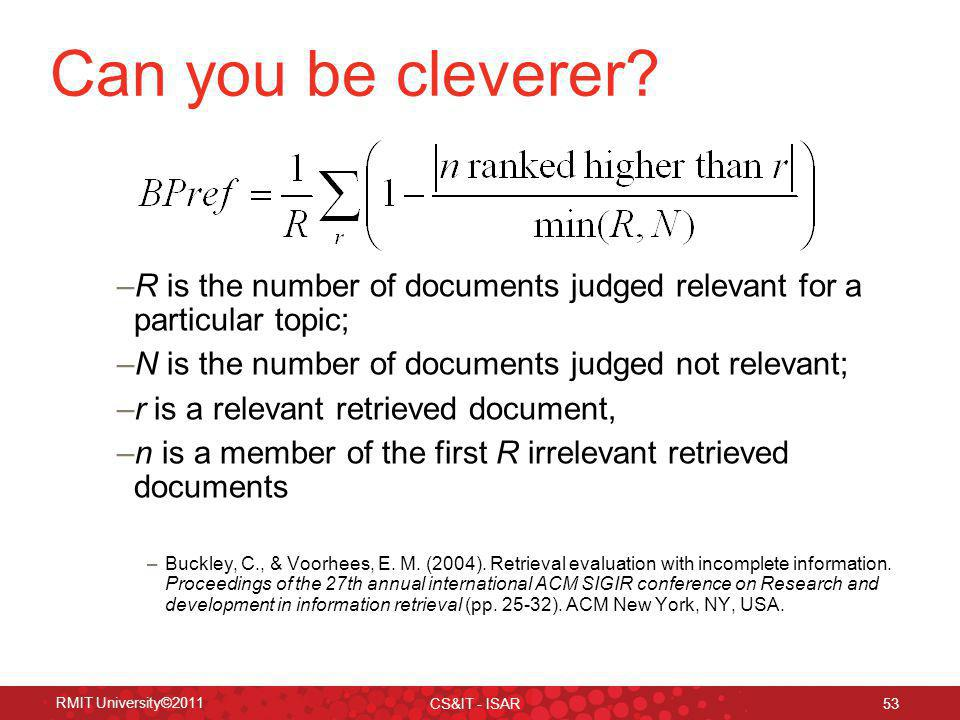 Can you be cleverer.