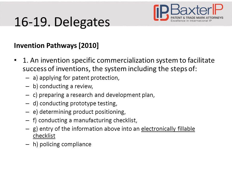 Invention Pathways [2010] 1.