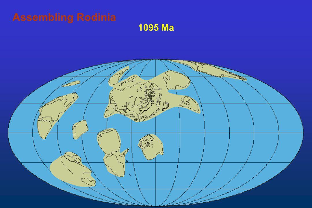 1095 Ma Assembling Rodinia