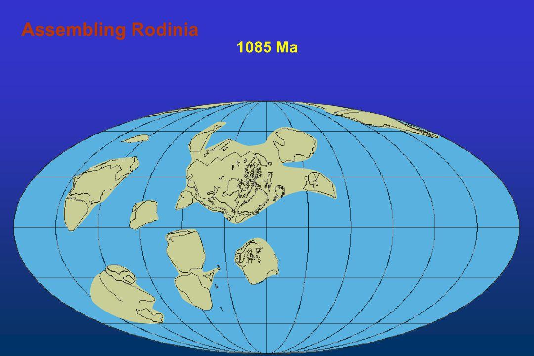 1085 Ma AssemblingAssembling Rodinia