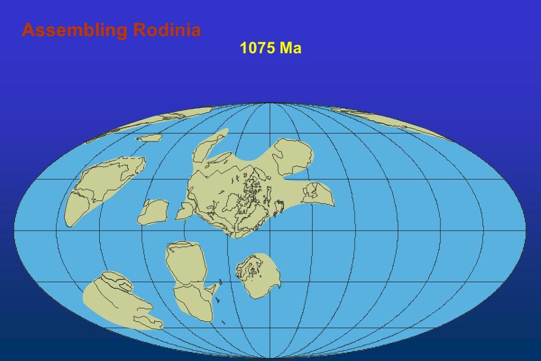1075 Ma AssemblingAssembling Rodinia