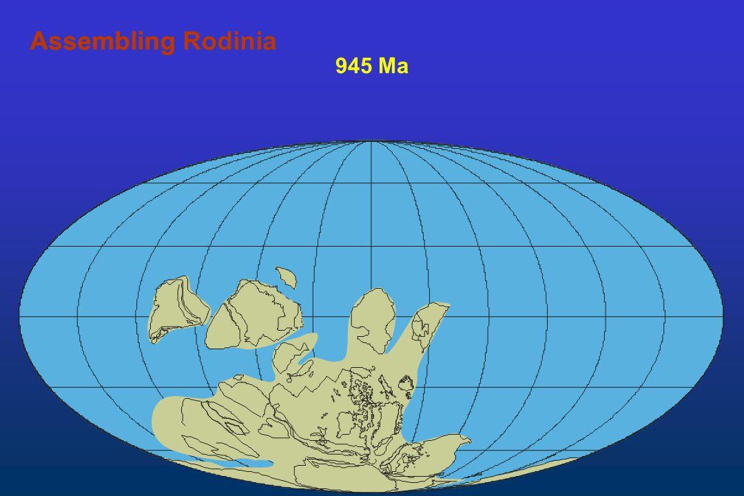 945 Ma AssemblingAssembling Rodinia