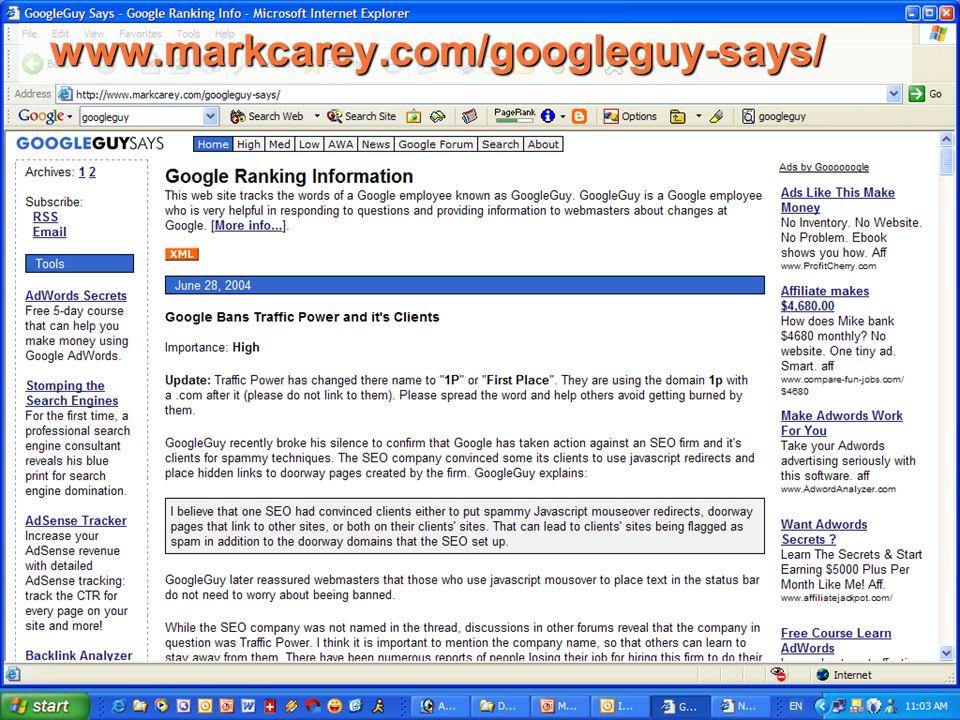 www.markcarey.com/googleguy-says/