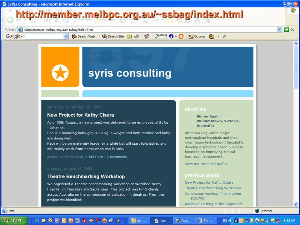 http://member.melbpc.org.au/~ssbag/index.html