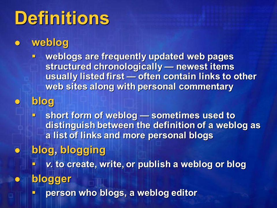 Hosted blog — advanced browser or e-mail Advanced Blog Setup Web site — index.html Blog — blog.html Your Blog FTP