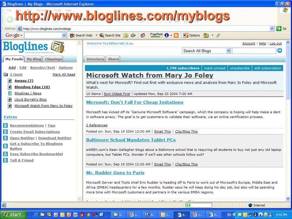 http://www.bloglines.com/myblogs