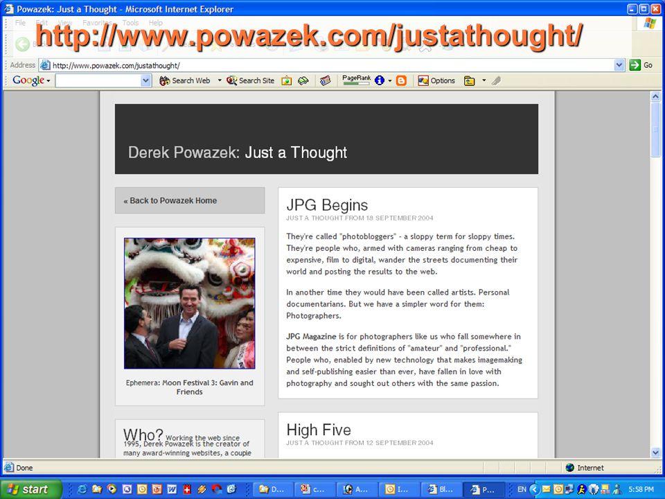 http://www.powazek.com/justathought/