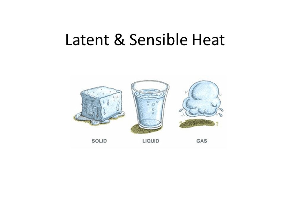 Latent & Sensible Heat