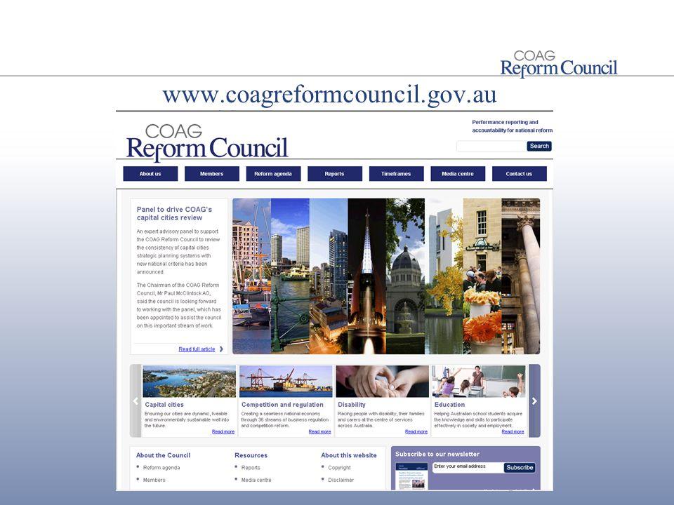 www.coagreformcouncil.gov.au