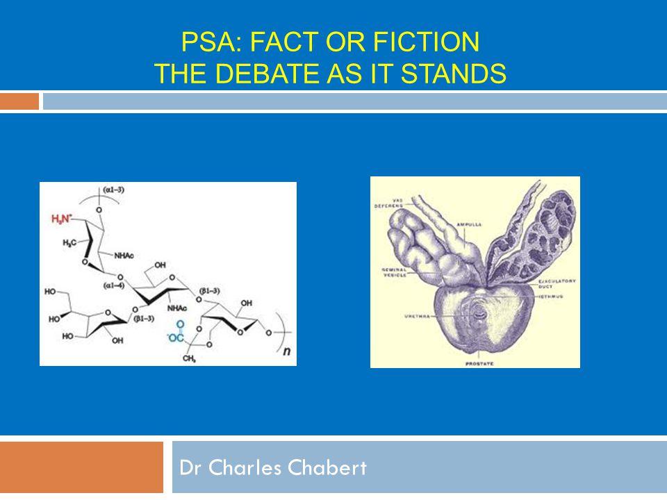PSA Screening Charles Chabert
