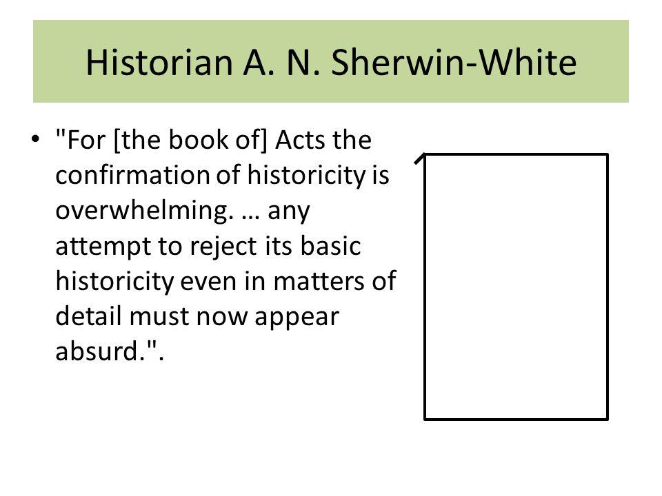 Historian A. N.