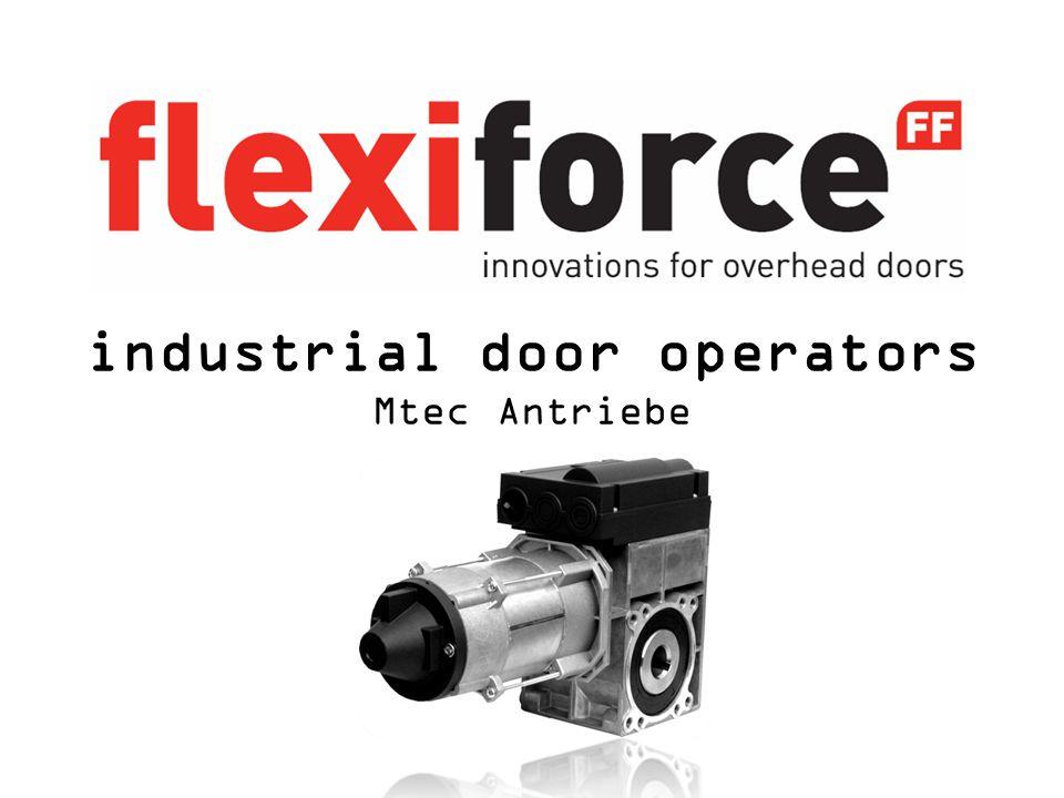 industrial door operators Mtec Antriebe