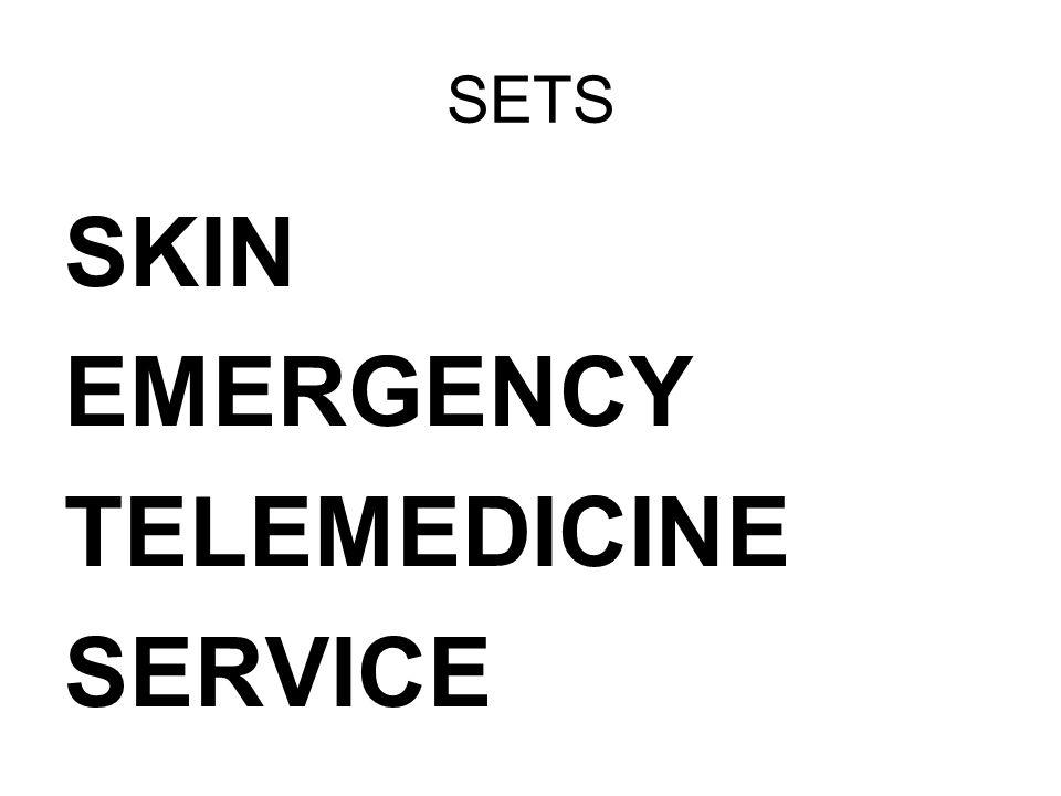 SETS SKIN EMERGENCY TELEMEDICINE SERVICE