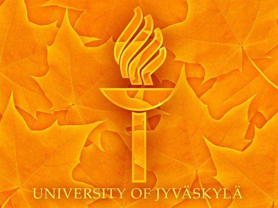 University of Jyväskylä at Present Year 2010