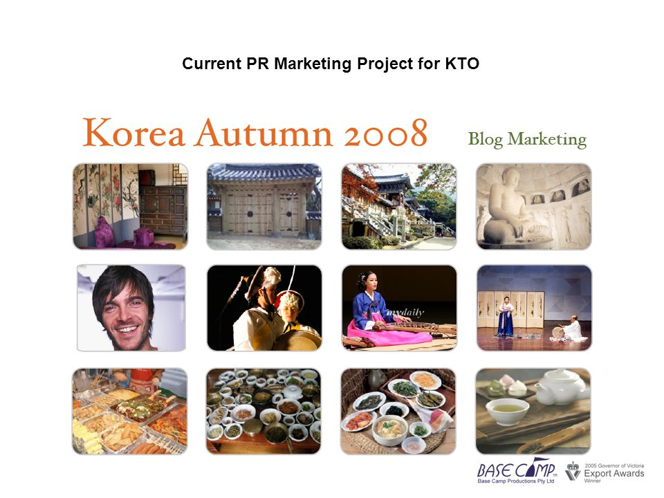 Current PR Marketing Project for KTO