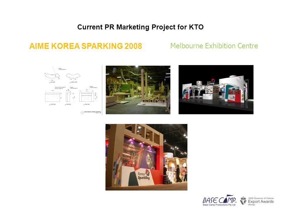 Current PR Marketing Project for KTO Robot Event Melbourne Exhibition Centre Sydney Darling Harbour