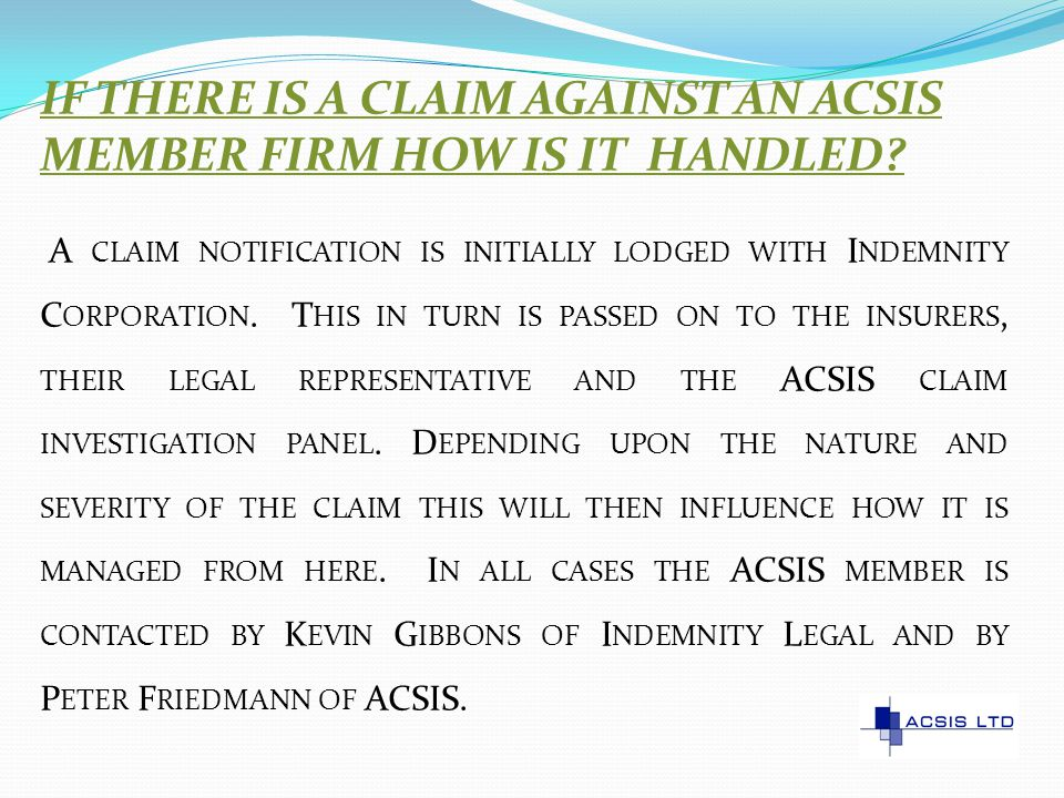 DO SURVEYORS NEED COVER FOR CLAIMS UNDER TRADE PRACTICES LEGLISLATION.