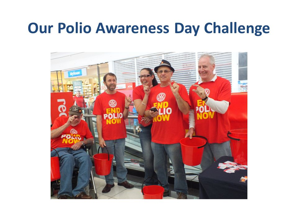 Our Polio Awareness Day Challenge