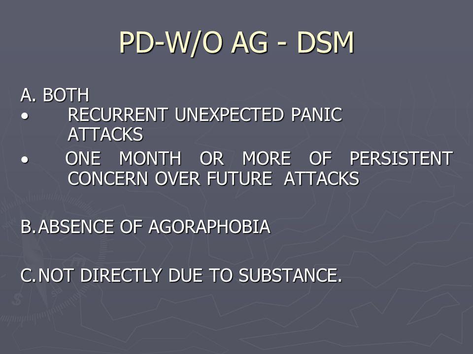 PD-W/O AG - DSM A.