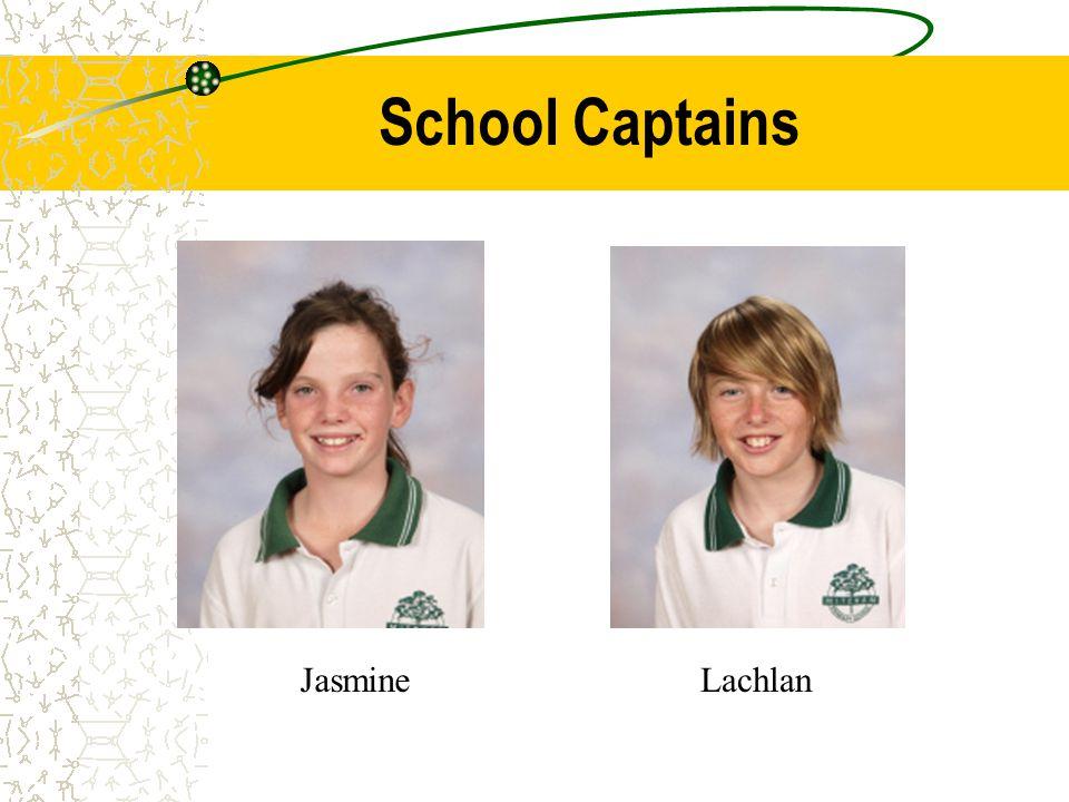 School Captains JasmineLachlan