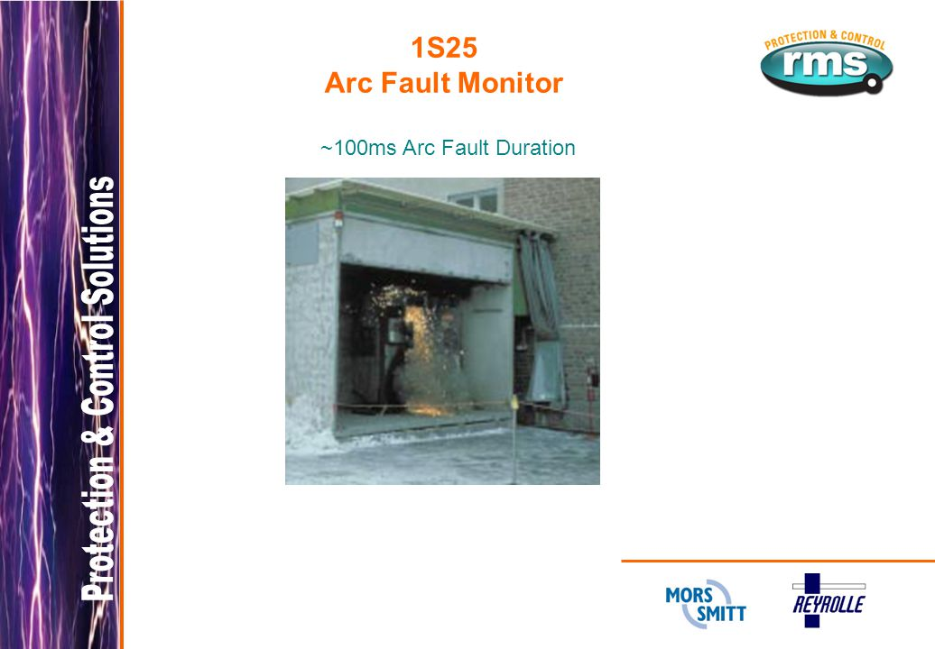 1S25 Arc Fault Monitor ~100ms Arc Fault Duration