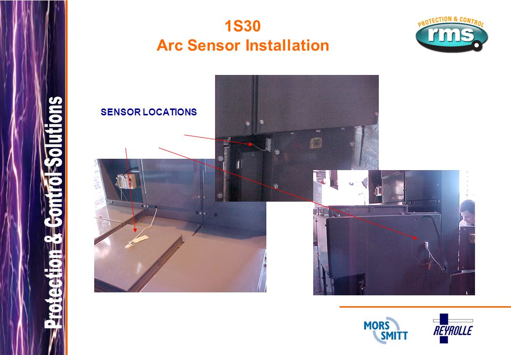 1S30 Arc Sensor Installation SENSOR LOCATIONS